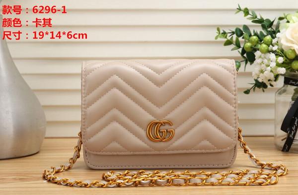 Women Messenger Bag Long Chain PU Leather Designers Luxury Shoulder Bags Ancient Gold Chain Waist Handbags Totes