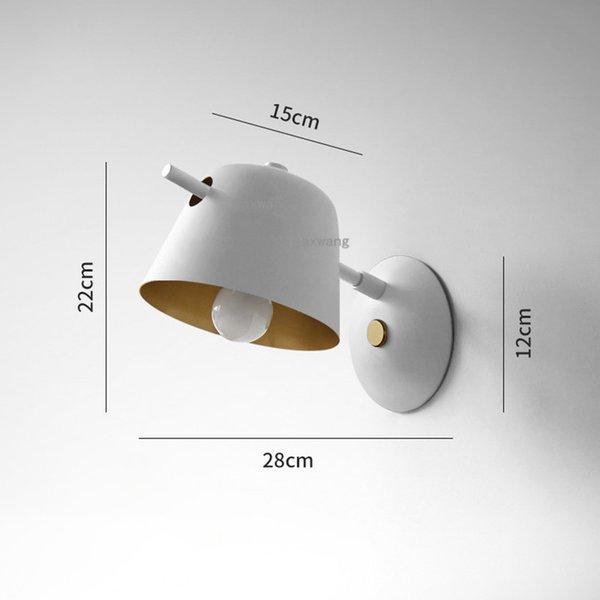 Ein weißer 28cm