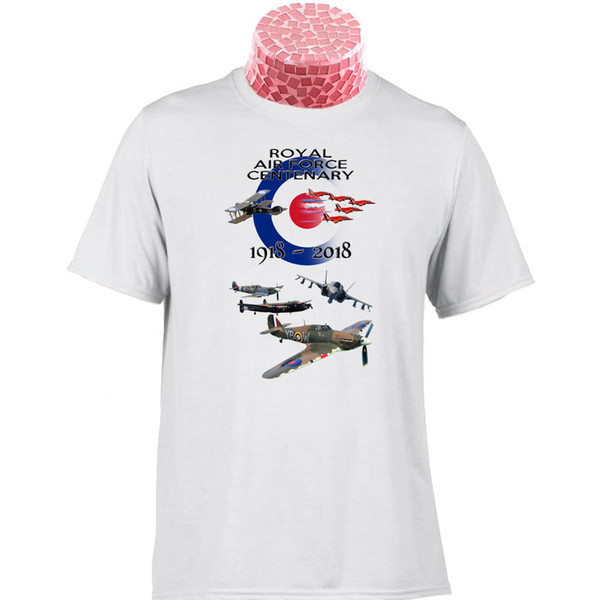 RAF 100 JAHRE JAHRESTAGSgeschenk T-Shirt. 10% gespendet an The RAF Benevolent Fund Funny kostenloser Versand