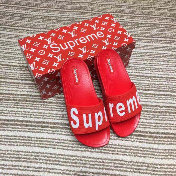 France Luxury Unisex EVA Latex Platforms shoes Gladiator slippers Womens Mens Fashion Unisex slippers Couple Trend Rubber Roman slippers