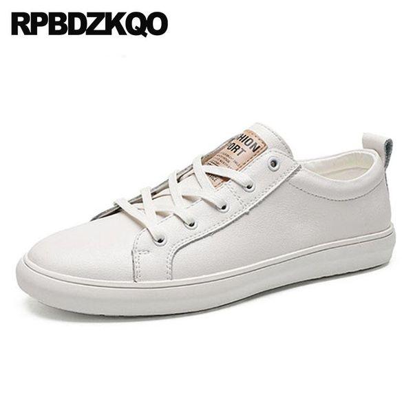 lace up di gomma di grandi dimensioni designer di scarpe da ginnastica soli pattini bianchi neri 11 pattino di comfort moda formatori casuali 2018 uomini nuovi appartamenti