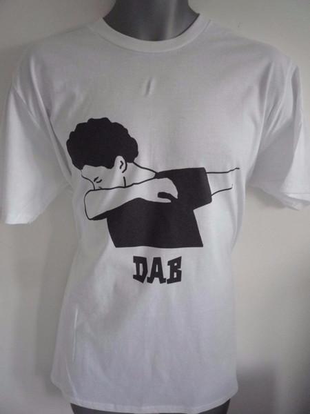 DAB TANZ LOGO KINDER T-SHIRT MIT DAB TEXT UNTER LOGO HIP HOP TANZ PFEIFE NAE NAE 2019 hot tees Top Sommermode T Shirt günstig im Großhandel