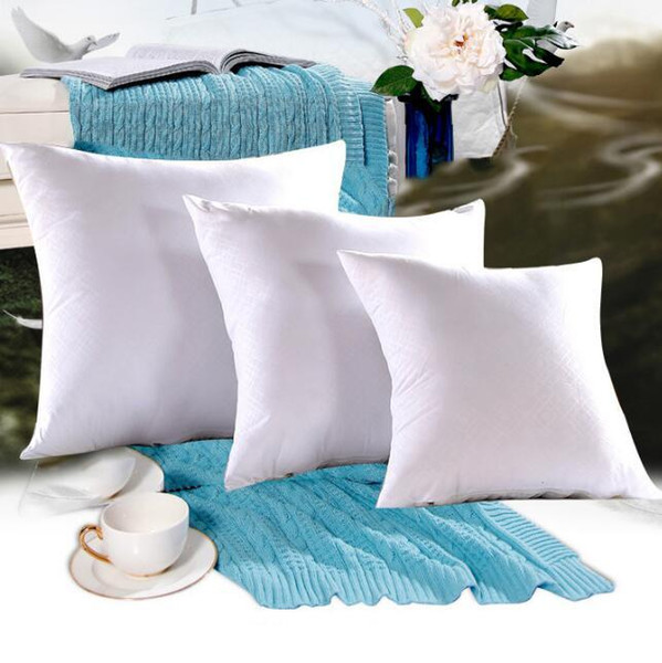 Superb White Polyester Decorative Square Pillow Insert Form Cushion Stuff Sofa Throw Pillow Car Waist Pillowslip Insert Cca11204 A Sofa Pillow Couch Throw Pdpeps Interior Chair Design Pdpepsorg