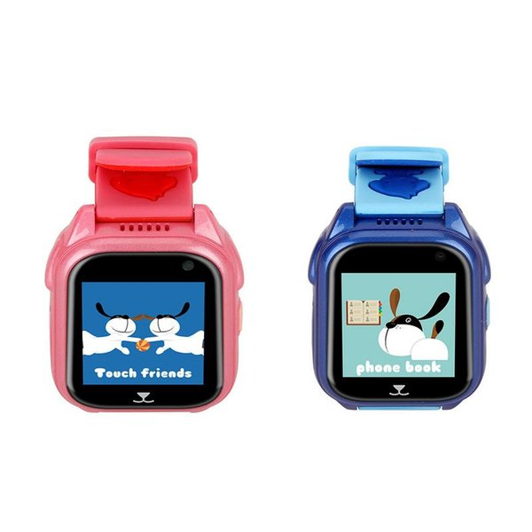 Safety GPS Watch For Kids Call Smart Watch With Camera SOS Location Device Tracker Baby Safe Anti-lost Activity Monitor For Chi
