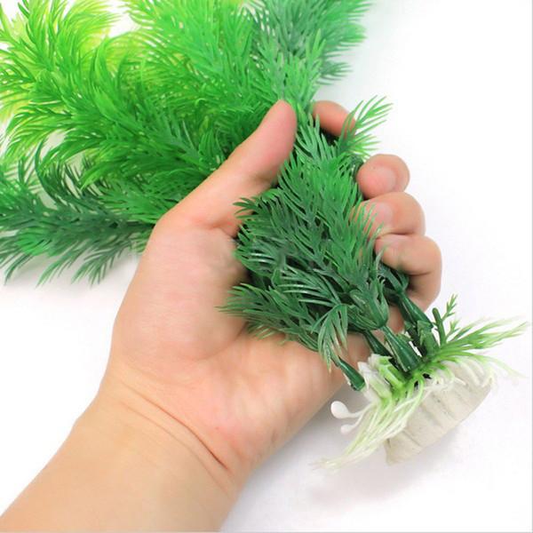 30см моделирование водных растения воды ваниль аквариумов травы рыба бак украшение озеленение искусственной трава украшение пластмассовой XD21383