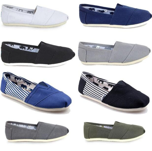 DORP shipping HOT SELL Wholesale New Brand Women and Men Fashion Sneakers Canvas Shoes tom shoes loafers Flats Espadrilles shoes Size 35-45