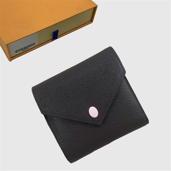 top popular Wallets Womens Wallet Purses Fold Wallet Men Short Long Wallets Card Holder Passport Holder Lady Folded Purse Ladies Coin Pouch 24 756 2020