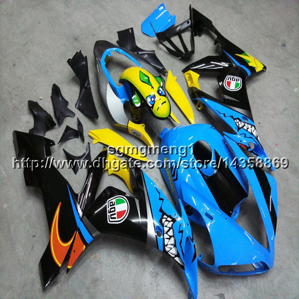 23colors+Screws+Gifts+Screws yellow blue motorcycle fairings For Yamaha YZF 1000 YZF-R1 04 05 06 YZFR1 2004 2005 2006 motor panels