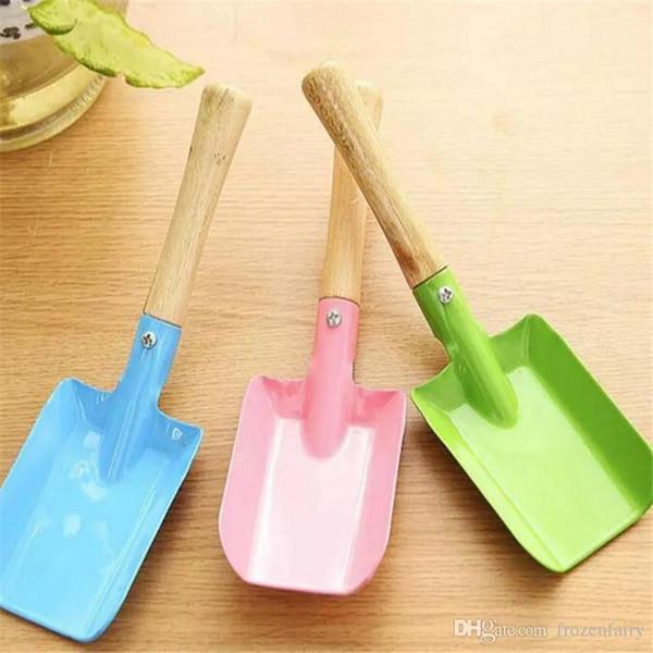 Mini Gardening Shovel Colorful Metal Small Shovel Garden Spade Hardware Tools Digging Garden Tools Kids Spade cc289-296 2018072601