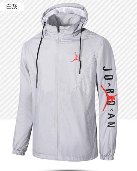 2019 Men's summer sunscreen north skin clothing windproof clothing sports casual face jacket windproof sunscreen lightweight comfort 838507