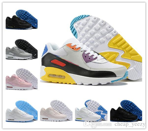 2019 designer 90s Be True Rainbow Womens Mens Running Shoes Chaussures Homme Mesh 90s sports walking sneakers Size Eur 36-45 hotsale