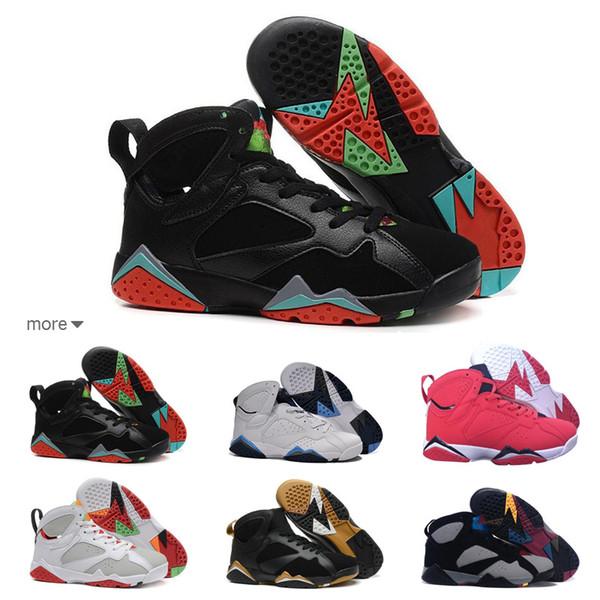 a8fcf36ada6 7s Classic 7 men women basketball shoes pure money hare Bunny raptor french  blue Bordeaux Hot