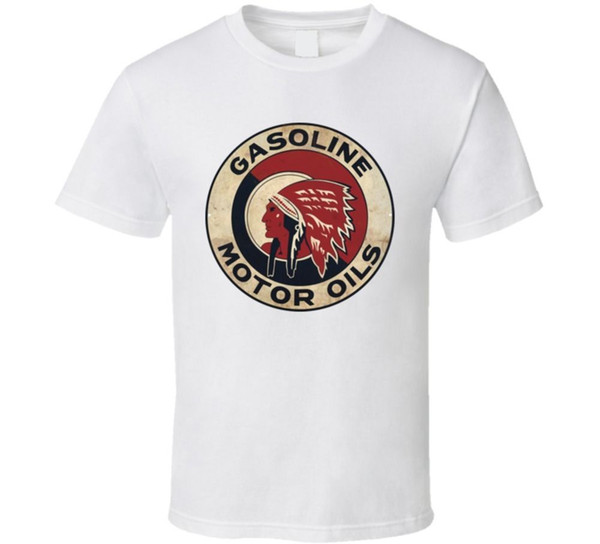 Red Indian Motor Oil Gasoline Automobile Car Fan T ShirtFunny free shipping Unisex Casual Tshirt