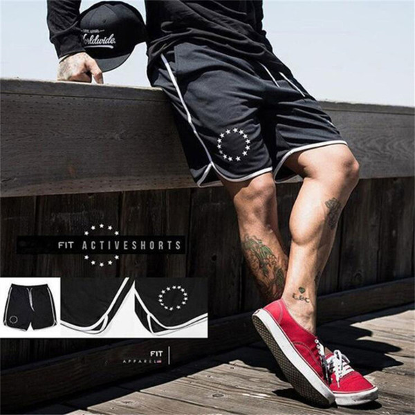 2019 gym new fashion Fast-drying breathable baskets for summer running training pants in men's fitness shorts gym shorts
