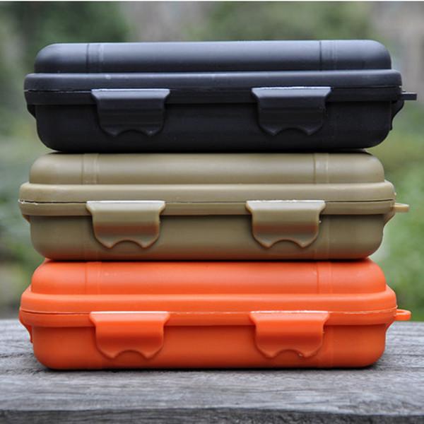 Outdoor waterproof box, large, outdoor sealed waterproof box, camping supplies storage box, sealed box