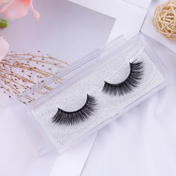 One Pair Woman False Eyelashes Cross Thick False Eye Lashes Extension Makeup Super Natural Long Fake Eyelashes Extension Tools