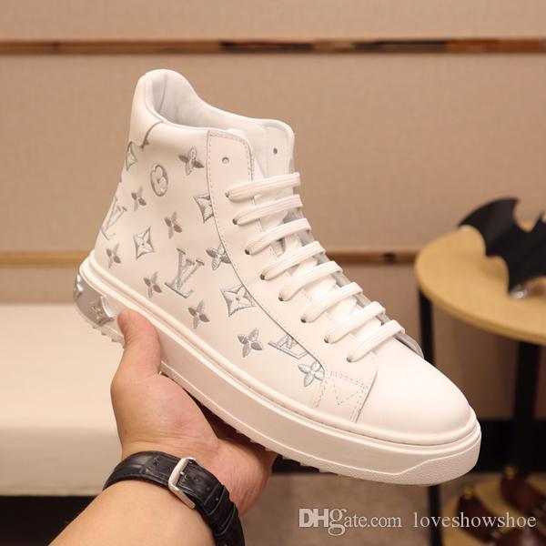 Yeni teknik direktör spor ayakkabıları botlar erkek moda yüksek top ayakkabı erkek spor eğlence açık yürüyüş ayakkabıları büyüklüğü 38-45