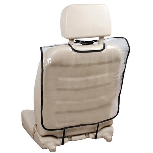 Car Auto Assento de Assento Traseira Protetor Caso Capa para Crianças Chute Tapete Lama Limpa Plástico Transparente Claro Anti-chute Pad Novo