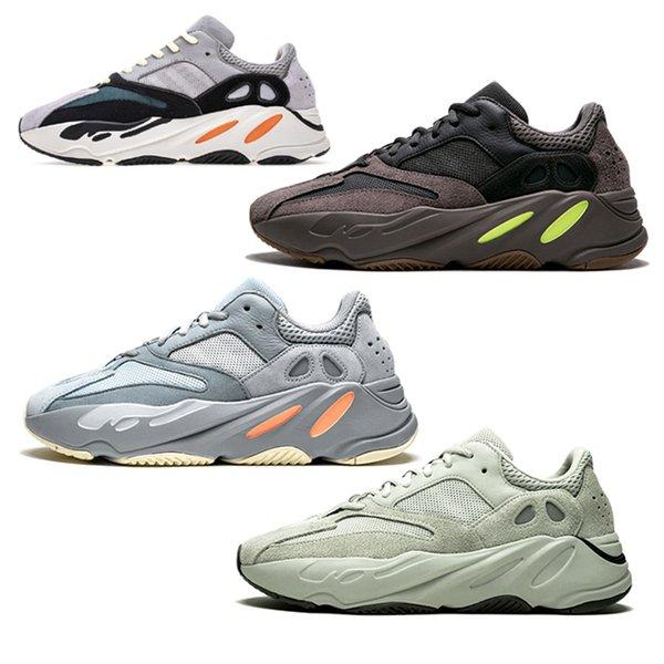 Dalga koşucu 700 kanye batı ayakkabı eva colorway vanta tuz atalet geode leylak rengi gri satışa, indirim 700 v2 3m yansıtıcı 700 spor ayakkabı