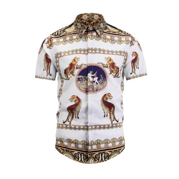 Yeni Tasarımcı Erkek Giyim Erkek Moda Polos T-Shirt Tyrannosaurus Erkekler Marka Kısa Kollu Yaz Üstleri Boyut M-XXL