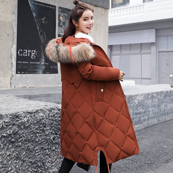 Cotton Winter 2018 New Parkas Female Women Winter Coat Thickening Jacket Womens Outwear Parkas for Women Clothes Clothing