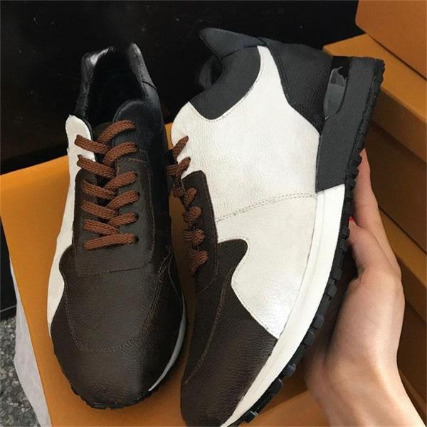 leather Black/White/brown flower