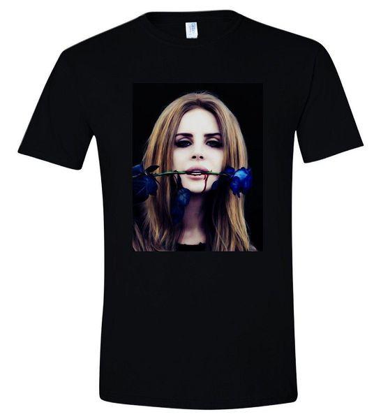 Lana Del Rey T Shirt American Sexy Singer Born To Die Tee Men s Black T-Shirt High Quality Custom Printed Tops Hipster Tees T-Shirt