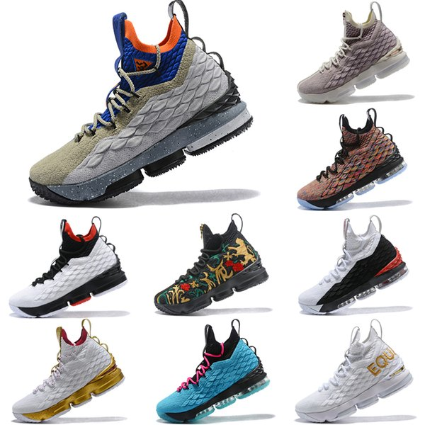 timeless design 62c15 84f22 2019 2019 Top Quality Lebron 15 ACG Air Mowabb Mens Basketball Shoes James  15 Sneakers XV Sports Shoes Size 40 46 From Sneakerssonfire, $129.39 | ...