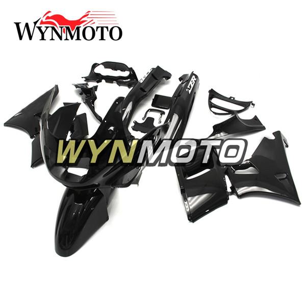 ABS Plastic Full Fairing Kits For Kawasaki ZZR400 1993 - 1997 NINJA ZZR-400 93 94 95 96 97 Injection Motorcycle Bodywork Pure Black Cowlings