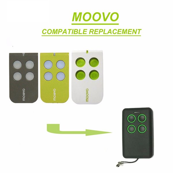 2pieces Top quality garage remote duplicator for Moovo MT4,MT4G,MT4V beautiful
