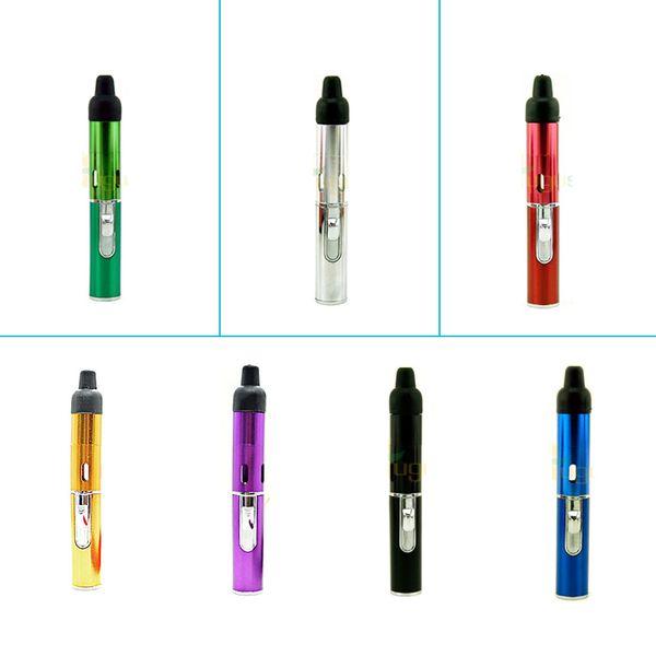 e cig tanks cheap e cigs click N vape sneak vape portable Herbal Vaporizer Vaporizer with built-in Wind Proof Torch Lighter