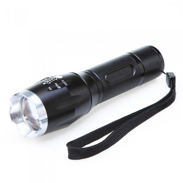 Led Flexible Dimming Aluminium Alloy Charge Flashlight T6 Charge Light Flashlight Waterproof Lighting