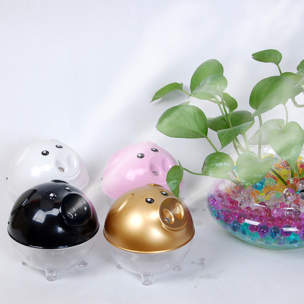Lucky pig mini u b humidifier pink white air purifier aroma diffu er for home room car cute home appliance  air cleaning  h308