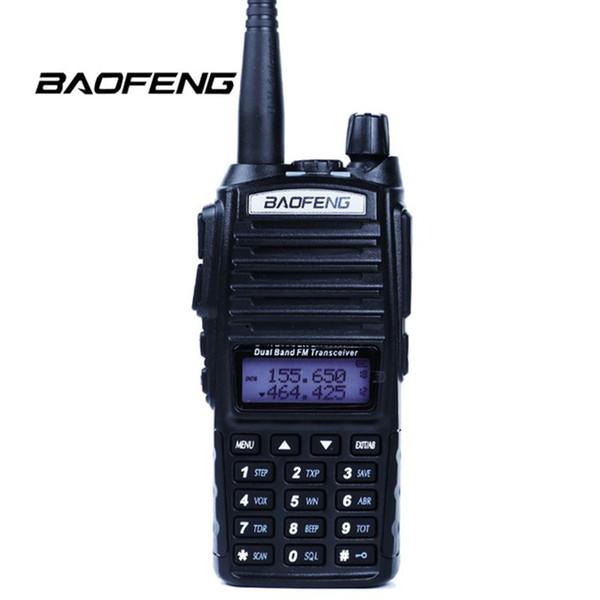 10pcs Baofeng UV-82 Walkie Talkie Dual Band VHF UHF Dual Display Portable Radio Station Two Way Radio uv82