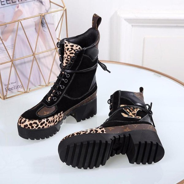 Luxury Botte Femme Boot Desert LouisVuittonLV Womens Type Boots Laureate Chaussures 2018 Fashion Shoes Style From Fashion De Luxury Platform WD2IEYHe9