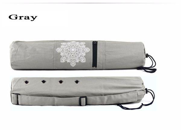 Wholesale-Practical Yoga Pilates Mat Carry Strap Drawstring Bag Sport Exercise Gym Fitness Backpack for 6mm Yoga Mat 68 X 15cm