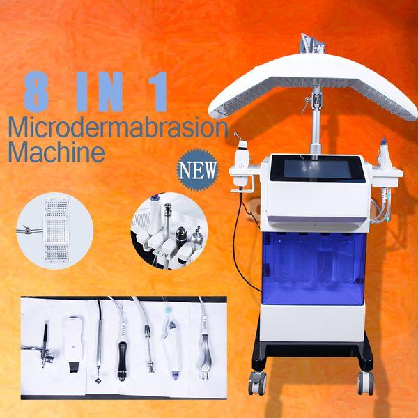 Máquina Facial Hydrafacial Pro Máquinas de Microdermoabrasão Aparelho Facial de Ultrassonografia com Água Dermoabrasão Hydra Facial Treatment 8 funções