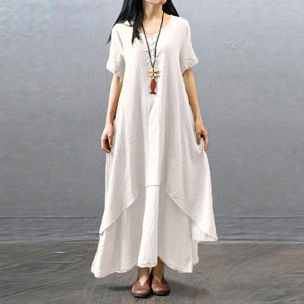 short sleeve White