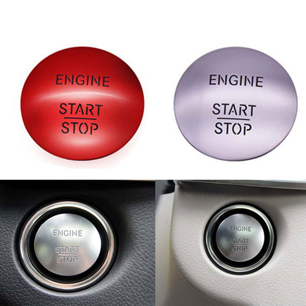 best selling Universal Car Keyless Go Start Stop Push Button Engine Switch For Mercedes Benz W164 W204 W205 W212 W221 Replacement Accessories