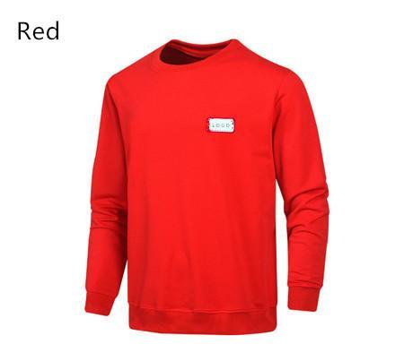 Marque de haute qualité à manches longues Nouveau Designer Hommes Mode Hoodies desserrés et couleurs naturelles pour le sport Hoodies Casual 2019 Taille M-4XL QSL198202