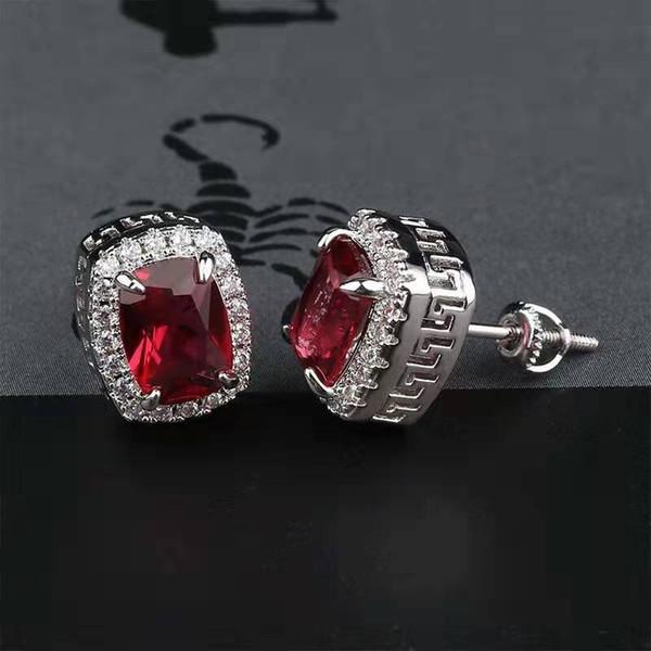 серебряный красный