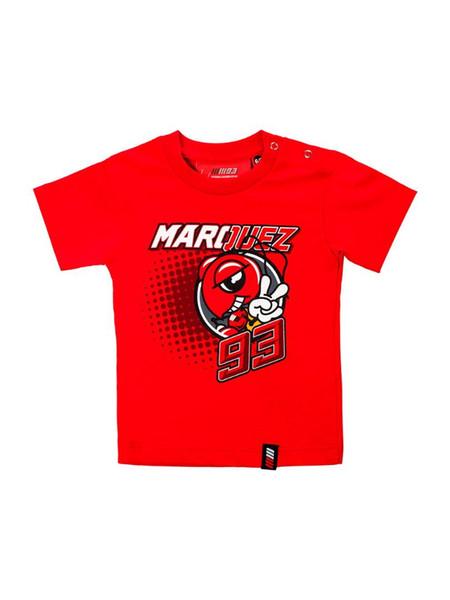 Camiseta Niños Camiseta para niños Dirt Bike Sports ATV Motocross Cycling Ant's Red T Shirt