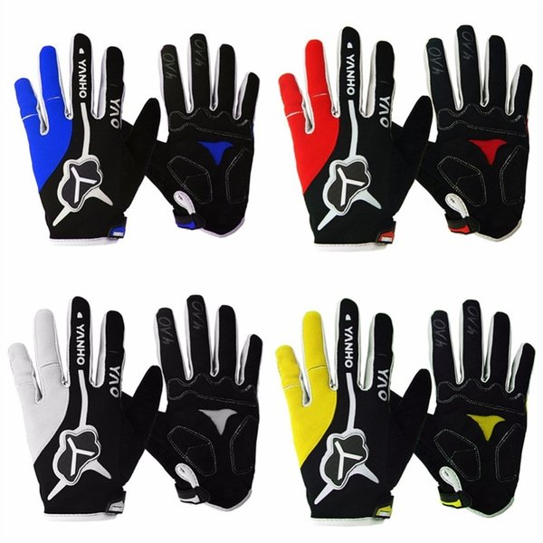 Long Finger Cycling Glove Gel Touch Screen Mountain Bike Bicycle Gloves for Man Woman MTB BMX DH Off Road Motocross Gloves #283859