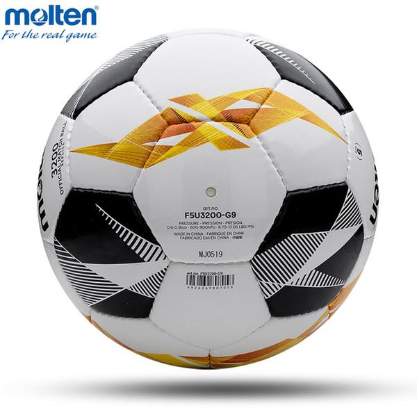 2019 Ballon de football Fondu officiel Taille 4 Taille 5 Ballon de soccer Goal Ball Ball Sports de plein air Ballons d'entraînement de football futebol 18 19 football