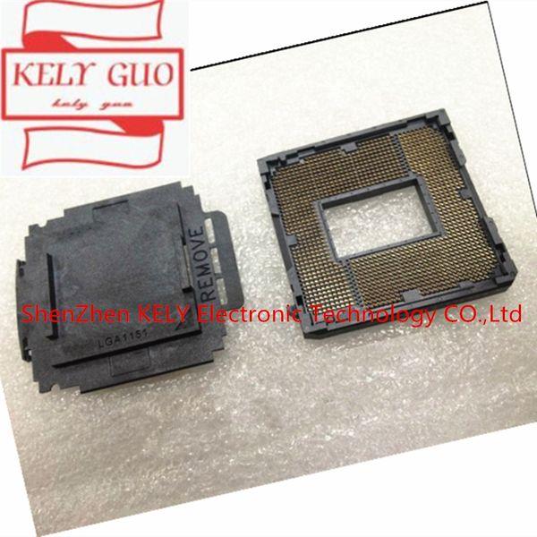 LGA 1151 LGA1151 mère réparation à souder BGA Socket CPU de remplacement avec des boules d'étain pour Skylake série