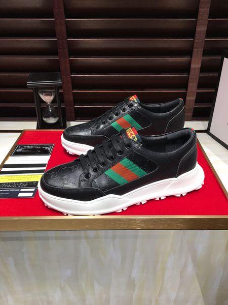 Zapatillas de exterior de diseño para hombre de lujo de la nueva moda 2019u, zapatos casuales de moda callejera, tamaño 38-45