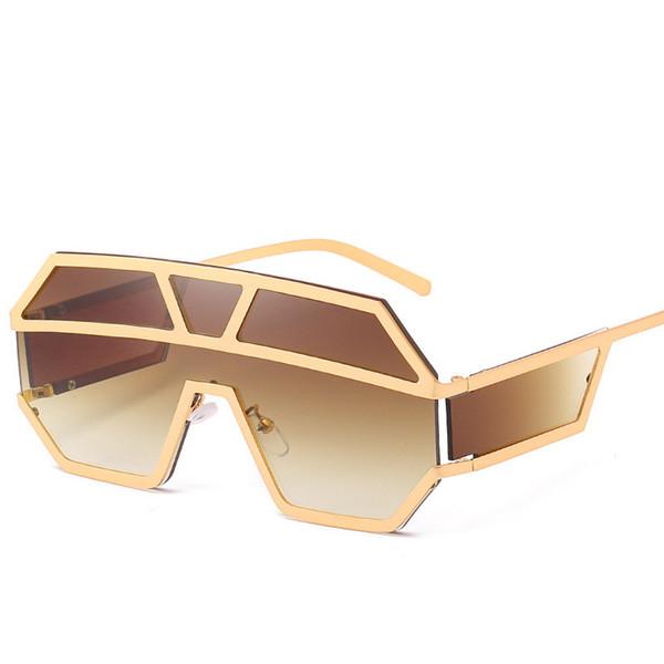 новая европейские и американских приграничных очки 1639 океана кусок моды очки тенденции личность оптовой большая коробка