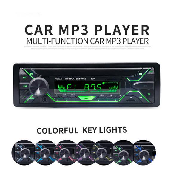 Car Radio Stereo Player Bluetooth Phone AUX-IN MP3 FM/USB/Remote Control 12V Car Audio Auto 2019 Sale New Audio Stereo