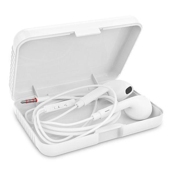 Portable Case for Headphones Case Mini Storage Hard Bag Headset Box for Earphone SD TF Cards
