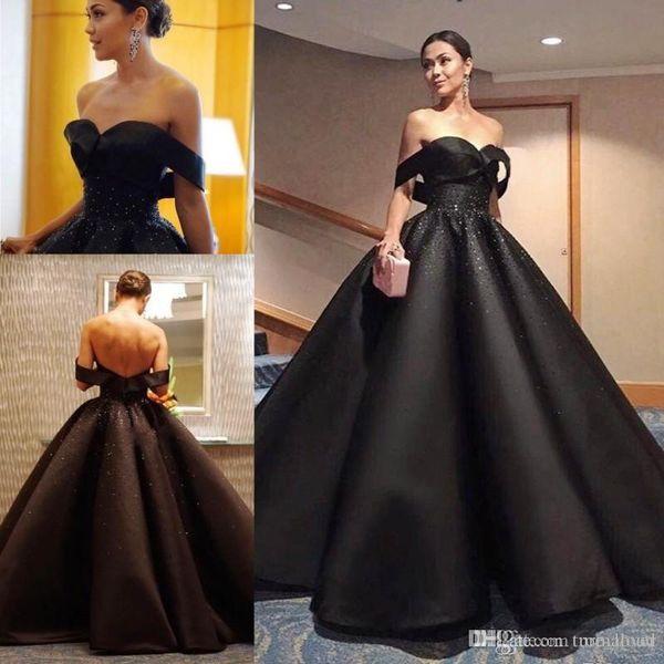 2020 Бисероплетение Bling Bling бальное платье платья Quinceanera плеча принцессы 16 Сладкие девушки выпускного вечера партии Специальным событием вечерние платья